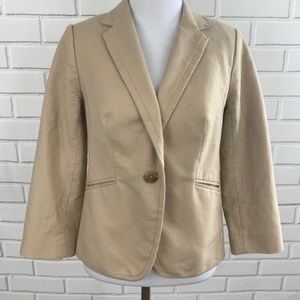 The Limited Tan Blazer Size Small